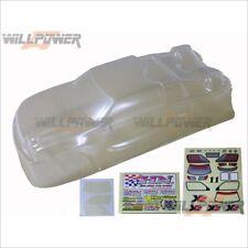 Truggy Clear Body Shell Cover #XT-33 (RC-WillPower) HongNor X2CRT