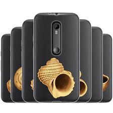 Dessana Painted Shells TPU Silicone Case Mobile Phone Case for Motorola