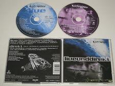 DIE FANTASTISCHEN VIER/LIVE UND DIREKT (BEAR MUSIC COL 486503 6) 2XCD ALBUM