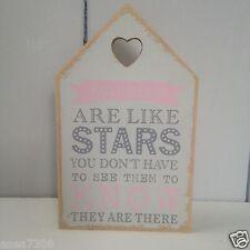 Suola in legno casa segni, HEART Detail & slogan ideale per sala da pranzo / SALA SEDUTA