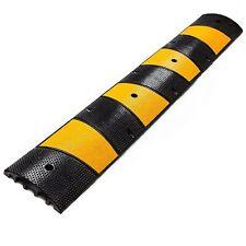RK Modular Rubber Speed Bump, Straight, 6 ft -RK-SPBP6 or End Cap -SPBPC