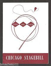"Cole Porter ""KISS ME KATE"" Anne Jeffreys / Julie Wilson 1949 Chicago Playbill"