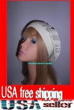 White Women Lady girl thin Fashion Beret Beanie CROCHET French Artist CAP HAT