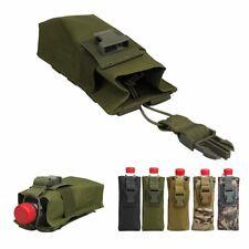 Outdoor Sports Hunting Molle Radio Walkie Talkie Belt Bag Water Bottle Pouch