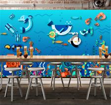 3D Ozean Fisch Natur 686 Tapete Tapeten Mauer Foto Familie Tapete Wandgemälde DE