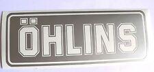 Adesivo OHLINS technology moto auto vinyl vinile vetro window sport racing