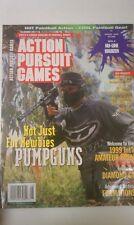 Magazine Of Paintball Sports Action Pursuit Games Pumpguns August 1999