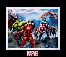 Marvel's The Avengers Thor Hulk Iron Man Hawkeye Cap Falcon Nick Fury Widow Art