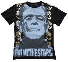 Paint the Stars LA Frankenstein Rock Star ViP Tour Disco Folien T-Shirt g.S M