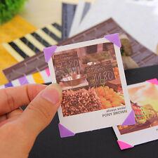 102/408 pcs Self-adhesive Photo Corner Stickers scrapbook album essential QWC