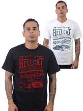 Rock Steady Clothing Hell Cat Kustom Car Rockabilly Männer T-Shirt