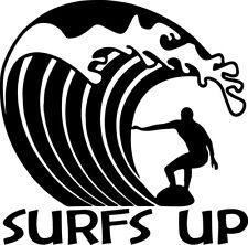 """Windsurfing love 6/"""" STICKER *F195* DECAL surf ocean wave trunks windsurfer"""