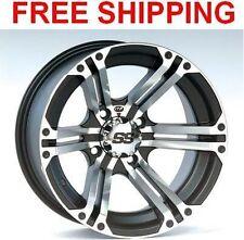 "(4) ITP SS212 Wheels Set Rims 14"" Wheel Kit Polaris 400/450/500 Sportsman 01-16"