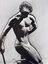 Man Ray•Solarized Male Nude 1933•Musée de l'Elysée Exhibition 1988 Poster 20x28