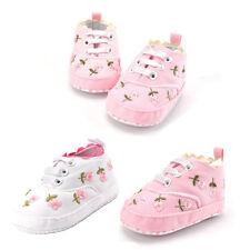 Baby Shoes Boy Girl Canvas Anti-Slip Print First Walking Shoe 0-24 Months TR
