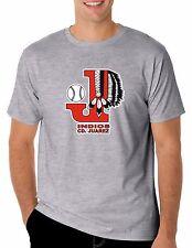Baseball Indios de CD. Juarez T-Shirt for Men's Color Gray 100% Cotton