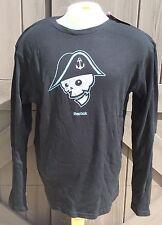 Reebok Face Off Apparel Men's Thermal Long Sleeve Shirt Black Milwaukee Admirals