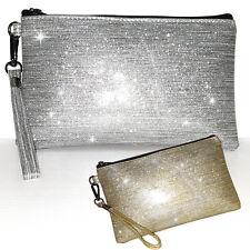 d4925e2126 Pochette laminata oro argento borsa donna borsetta elegante cluch art. D0472