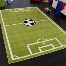 Tapis Chambre d'Enfant Tapis de Jeux Terrain De Football Vert