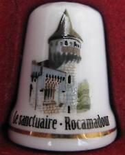 Dé à coudre Sanctuaire de Rocamadour Thimble Fingerhut #12