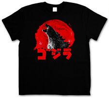 Godzilla logotipo vintage t-shirt-japón goijra Tokyo Nippon monstruo King Kong 3xl