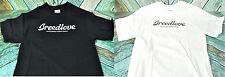 NEW OFFICIAL Breedlove Guitar Logo Tee in WHITE or BLACK Short Sleeve T-Shirt