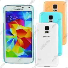 Etui Housse Coque Rigide Fine sans motif Samsung Galaxy S5 G900F et S5 New G903F