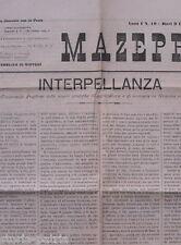 PUGLIA_BARI_MAZEPPA_ANTICO GIORNALE_ENOLOGIA_GRAVINA_GIOIA_CASTEL DEL MONTE_1891