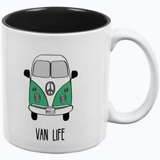 Hippie Van Life Wanderlust Bus Camper All Over Coffee Mug