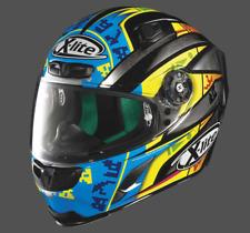 X-Lite X-803 Replica L. Camier scratched chrome Sport Motorcycle Helmet Visor ZE