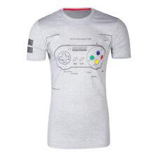 Nintendo Snes Controller Super Power T Shirt Mens