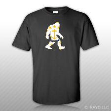 Rhode Island Bigfoot T-Shirt Tee Shirt RI big foot sasquatch yeti