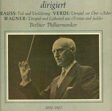 VICTOR DE SABATA CONDUCE STRAUSS WAGNER VERDI BERLINO ORCHESTRA FILARMONICA LP