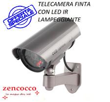 OFFERTA NUOVA TELECAMERA FINTA DI SICUREZZA CON LED IR LAMPEGGIANTE CCD CAMERA