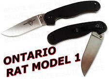 Ontario Randall RAT Model 1 Folder Satin Plain 8848 NEW