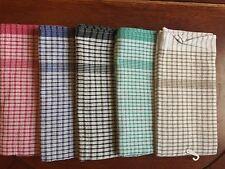 4 x JUMBO Size Tea Towels 4 Colors 60x90cm NEW