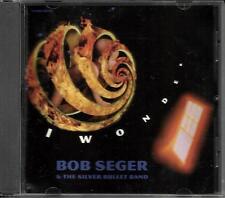 BOB SEGER I wonder w/ RARE EDIT USA 1 TRK PROMO radio DJ CD single 1996