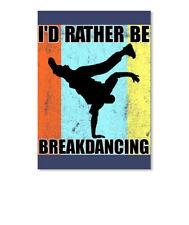 Break Dancing T Dance Hip Hop Tee Sticker - Portrait
