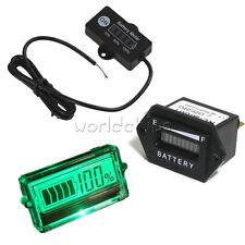 12V 24V/ 48V Battery Status Charge LED Digital Indicator Monitor Meter Gauge