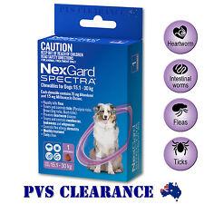 Nexgard Spectra Purple Single for Large Dogs 15.1 - 30 kg 1-Pack - Nexguard
