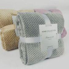 Super Soft Blanket Flannel Aircraft Sofa Use Office Children Blanket Towel Trave