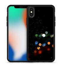 Colourful Bouncy Space Polka Dots Pattern Gloomy Dark Sky Soft Gel Phone Case