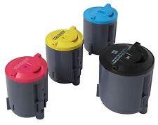 4 x Toner Cartridges Compatible With Samsung CLP-K300A, C300A, C300A, Y300A