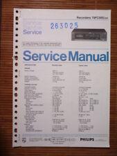 Service Manual Philips 70 FC 565 Tape Recorder,ORIGINAL