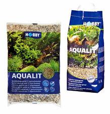 Hobby aqualit Aquarium Pflanzenbodengrund mit den wichtigsten Spurenelementen