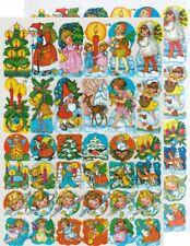 Chromo EF Découpis Images de Noël 7150 Embossed Illustrations Christmas