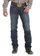 Cinch Western Denim Jeans Mens Silver Label Slim Dk MB98034006