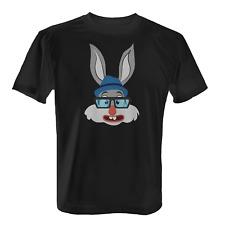 Nerd-Bunny Herren T-Shirt Fun Shirt Oster Hase Geschenk Idee Ostern Lustig Nerds