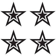 CUSTOM STAR CAR HOME DECORATION WINDOW DALLAS VINYL DECAL STICKER (ST-02)
