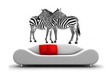 WandTattoo Afrika Tier  Zebra Pferde  140x110cm waf14